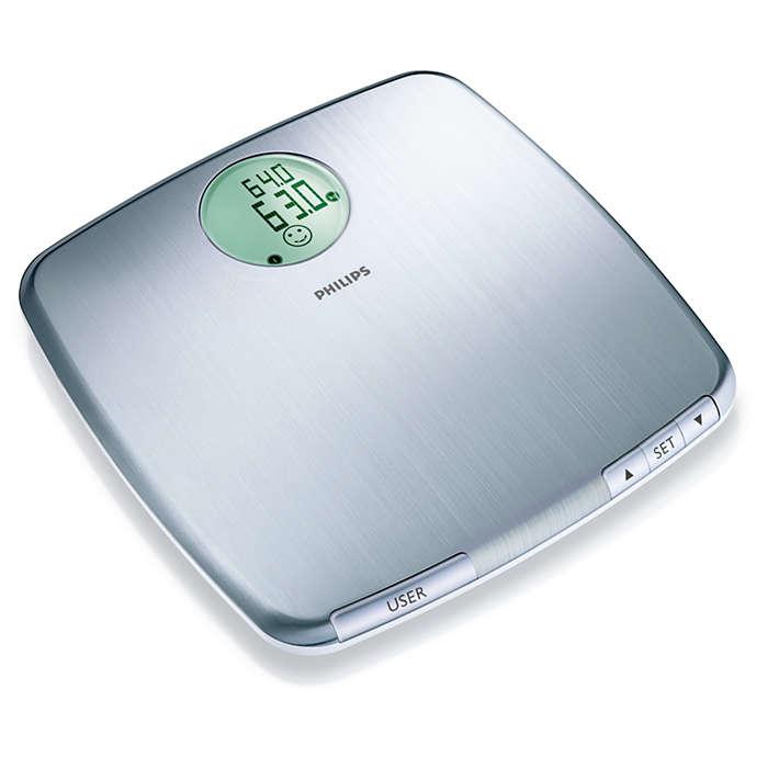 Узнайте свой точный вес