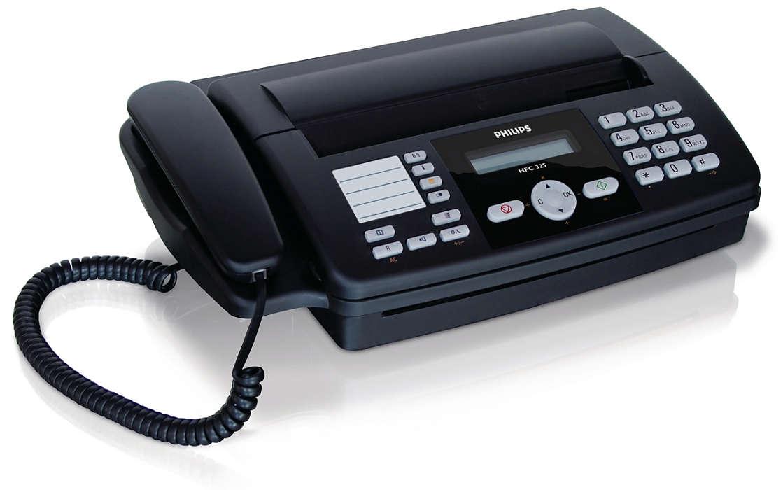 Pur şi simplu un fax perfect