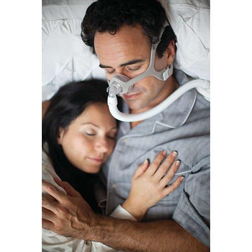 Wisp CPAP -nenämaski ja pääremmi