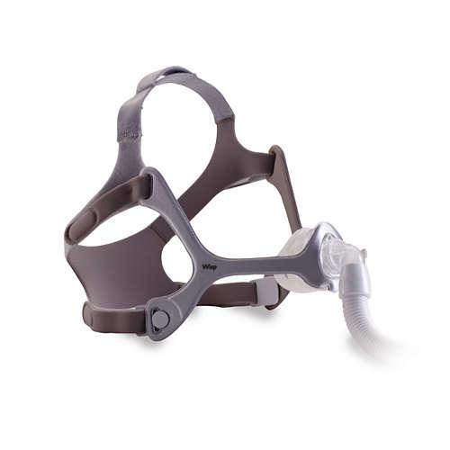 Wisp CPAP-näsmask med huvudband, Tygram