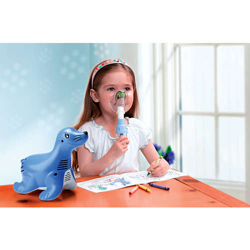 Sami the Seal Sistema de nebulizador pediátrico