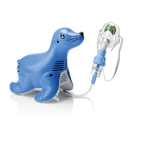 Sami the Seal Kompressor-Verneblersystem für Kinder