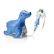 Sami the Seal pediatric nebulizer system