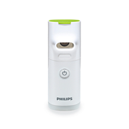 Philips InnoSpire Go portable mesh nebulizer HH1342 Hand-held treatment Treatment in 4 minutes** Built-in rechargeable battery