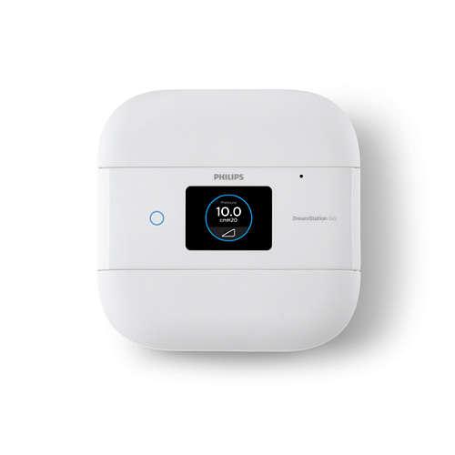 DreamStation Go CPAP-maskin for reise