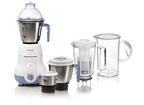 Philips Mixer Grinder HL1643 06 4 jar 600W Blue Plus Blender Jar