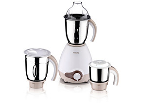 Philips Viva Collection Mixer Grinder HL1646 600 W 3 jars