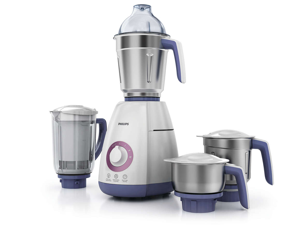 Mixer Grinder Blades : Viva collection mixer grinder hl philips