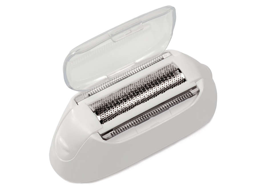 For continuously smooth shaving