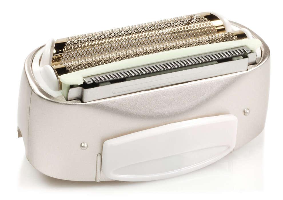 Comfortabel en doeltreffend scheren