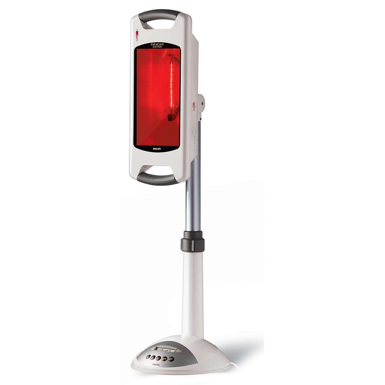 PHILIPS INFRACARE ROTLAMPE 650 Watt Infrarotlampe Lampe