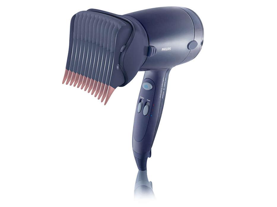 Asciuga e liscia i tuoi capelli dalla radice alle punte