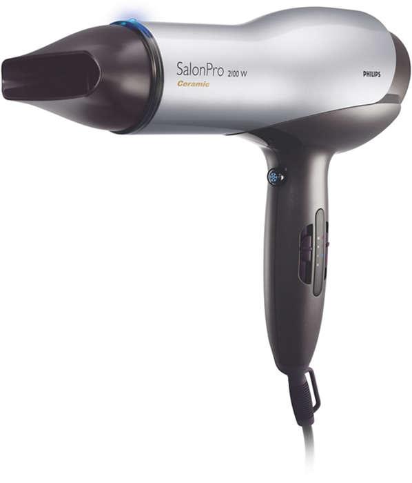 Hårtørreren, frisører selv ville bruge