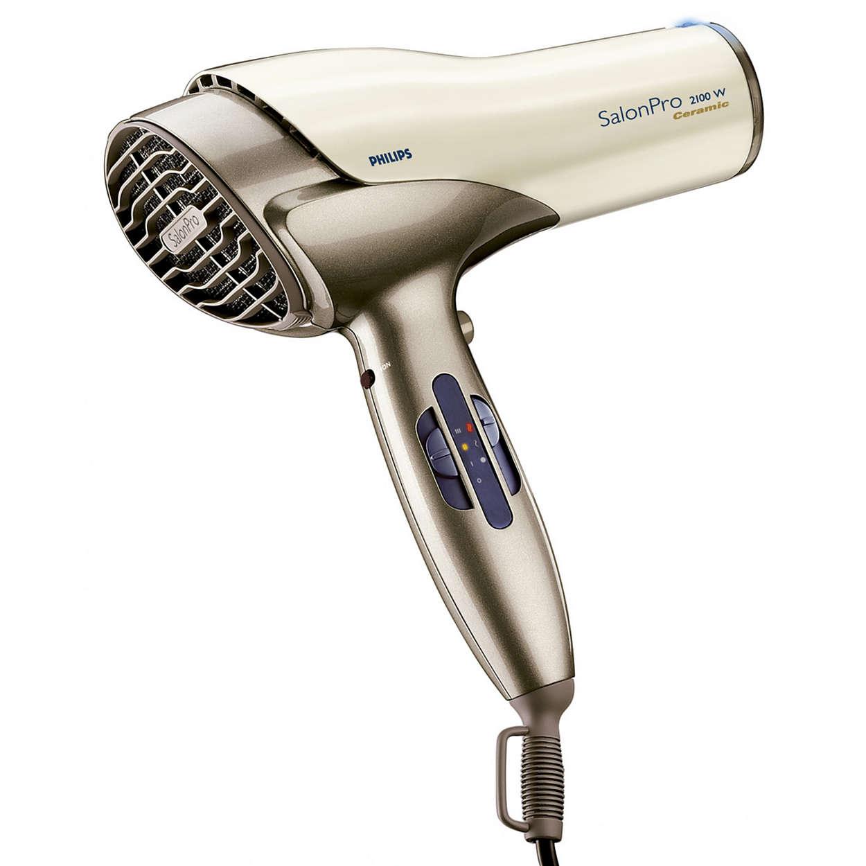 Vysoušeč vlasů, který by kadeřníci používali doma
