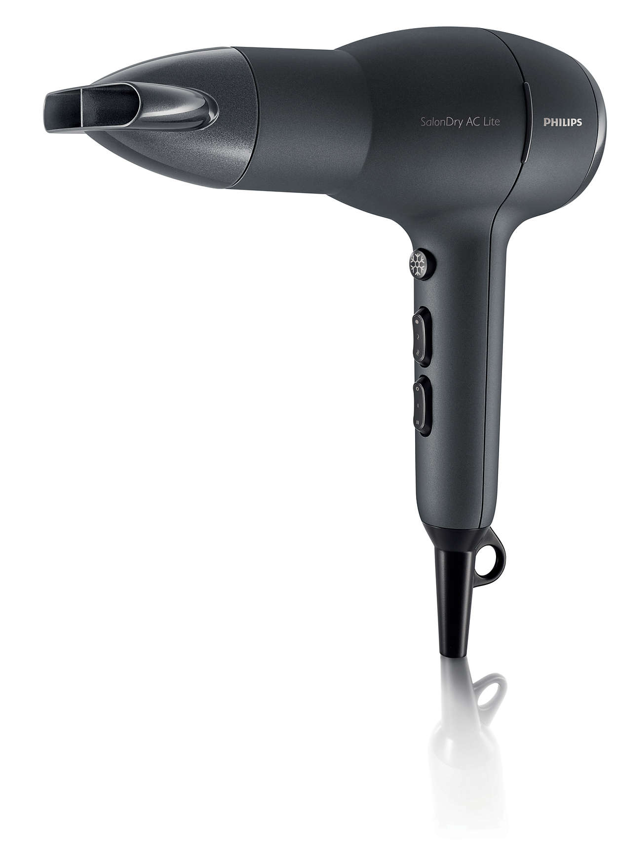 The lightest AC dryer for salon results*
