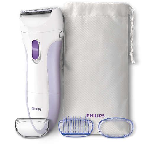 SatinShave Essential Elektrický holicí strojek pro mokré a suché holení