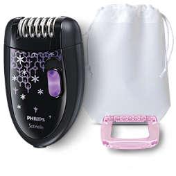 Satinelle Essential آلة صغيرة لإزلة الشعر
