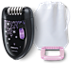 Philips Satinelle Essential Compact epilator HP6422/01 for legs 2 accessories Corded epilator Ergonomic handle