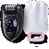 Philips Satinelle Essential Compact epilator HP6422/01 for legs 2 accessories Corded epilator Ergonomic handle
