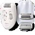 Philips Satinelle Essential Compact epilator HP6423/02 for legs 3 accessories Corded epilator Ergonomic handle