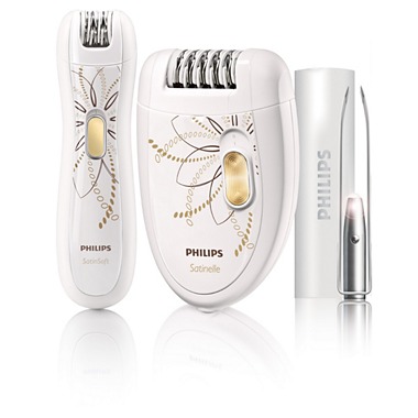 Limited edition epilation set