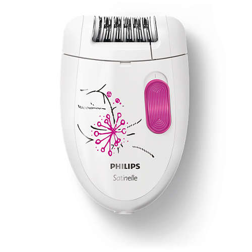 Satinelle Essential Epilator, mini epilator, pensetă