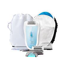HP6553/00 Satinelle Soft Depiladora, cabezal de afeitado, aplicador de frío
