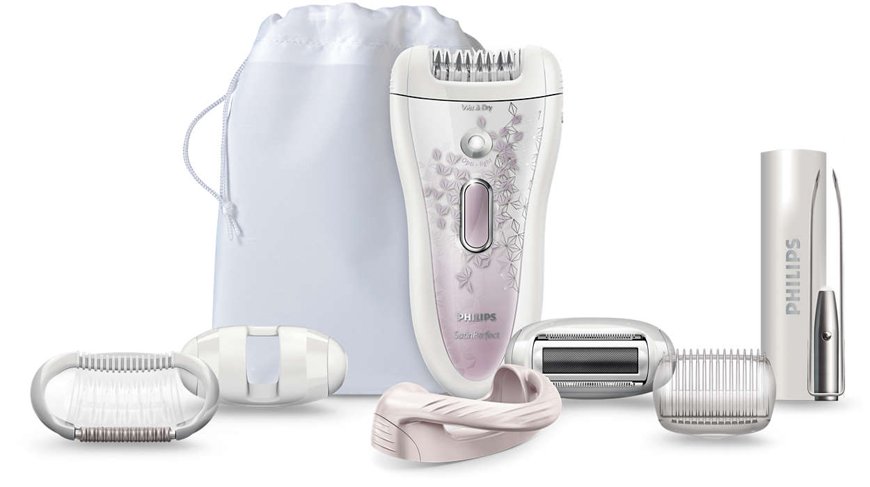 The most effective epilation of Philips
