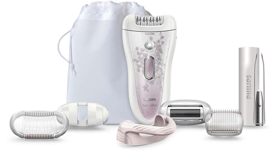Il sistema di epilazione Philips più efficace