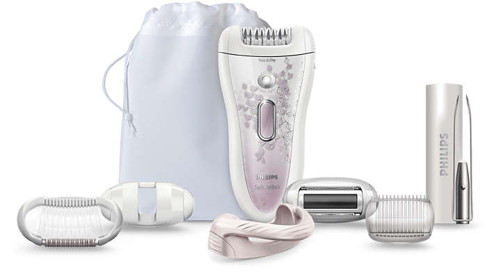 A depilação mais eficiente da Philips