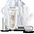 Epilator za uporabu na mokroj ili suhoj koži