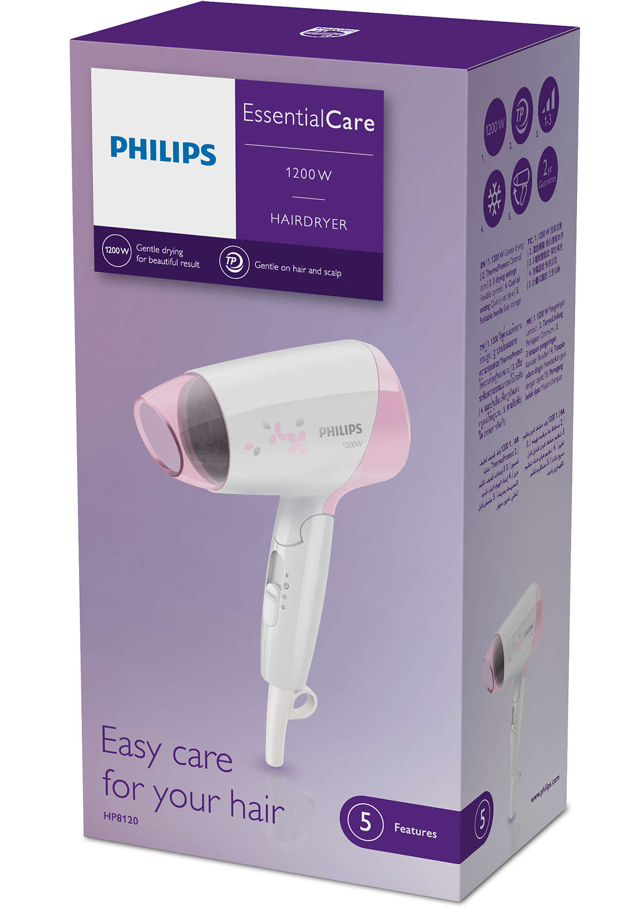 EssentialCare Dryer HP8120 00  28eb92bf01