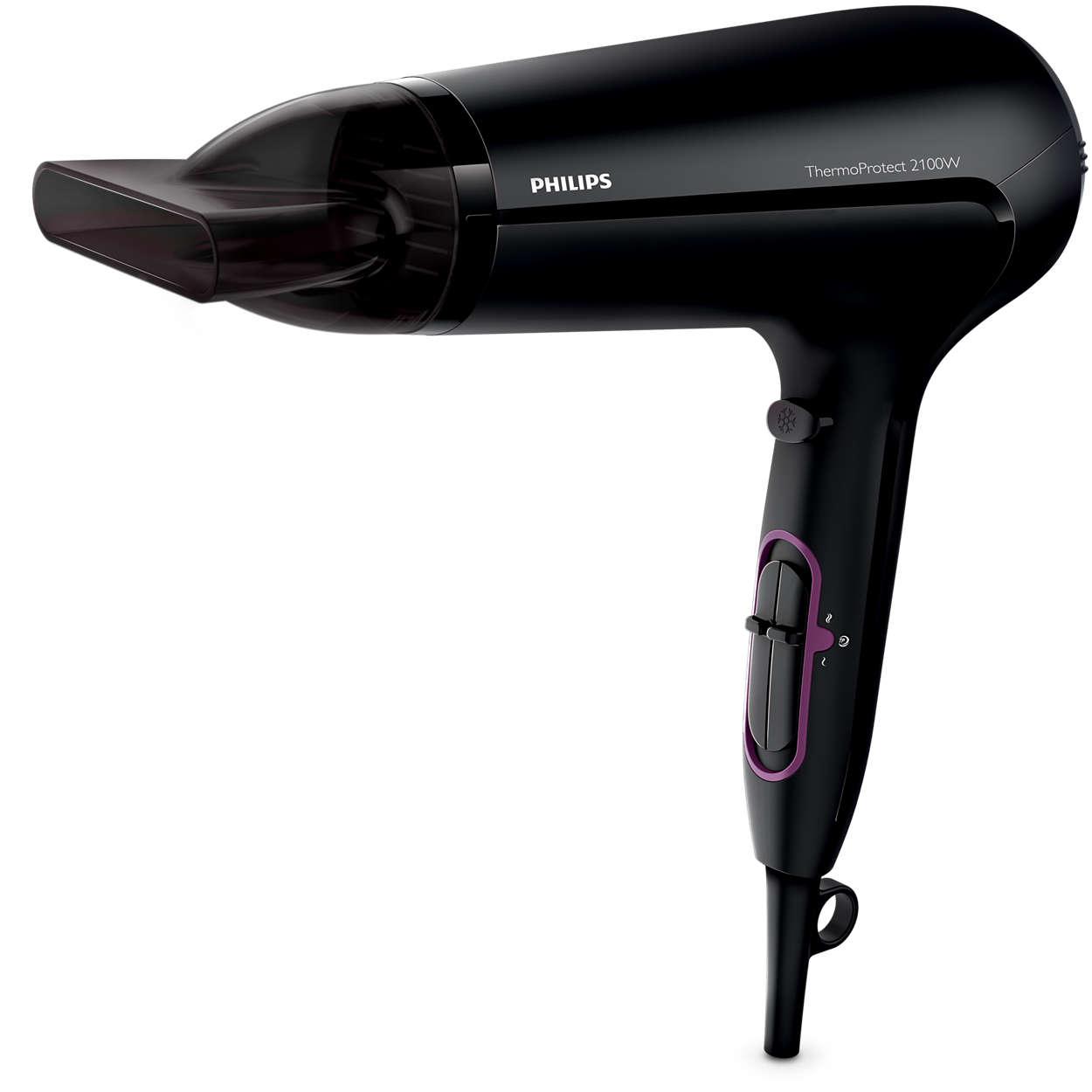 Мощно сушене и защитена коса