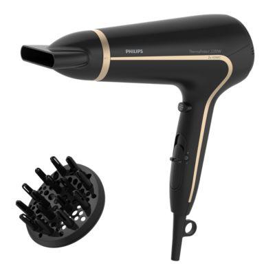 Buy ThermoProtect, Ion.fkt., 2200W, 2x mehr Ionen, HaartrocknerHP8232/20 online | Philips Shop