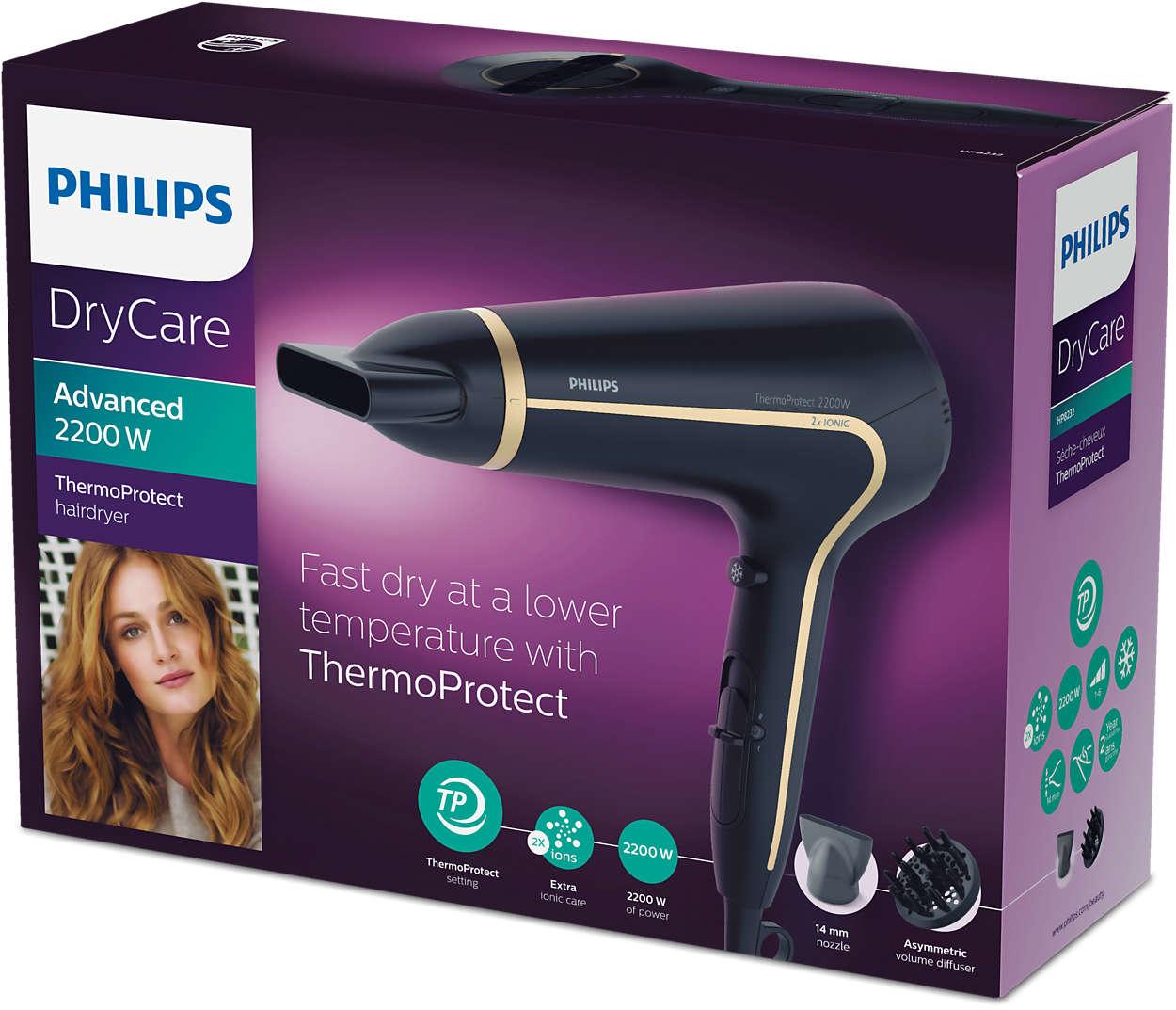 DryCare Advanced Asciugacapelli HP823000 | Philips