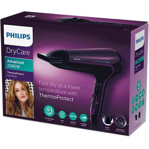 ThermoProtect Ionic Hairdryer