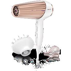 HP8280/03 MoistureProtect DryCare Prestige Hairdryer