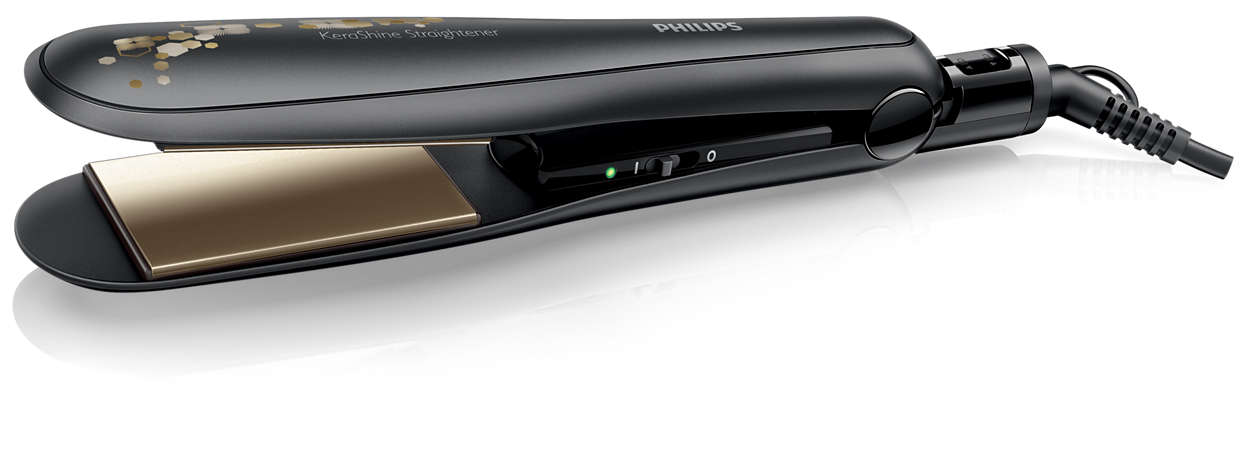 Hair straightener online philips