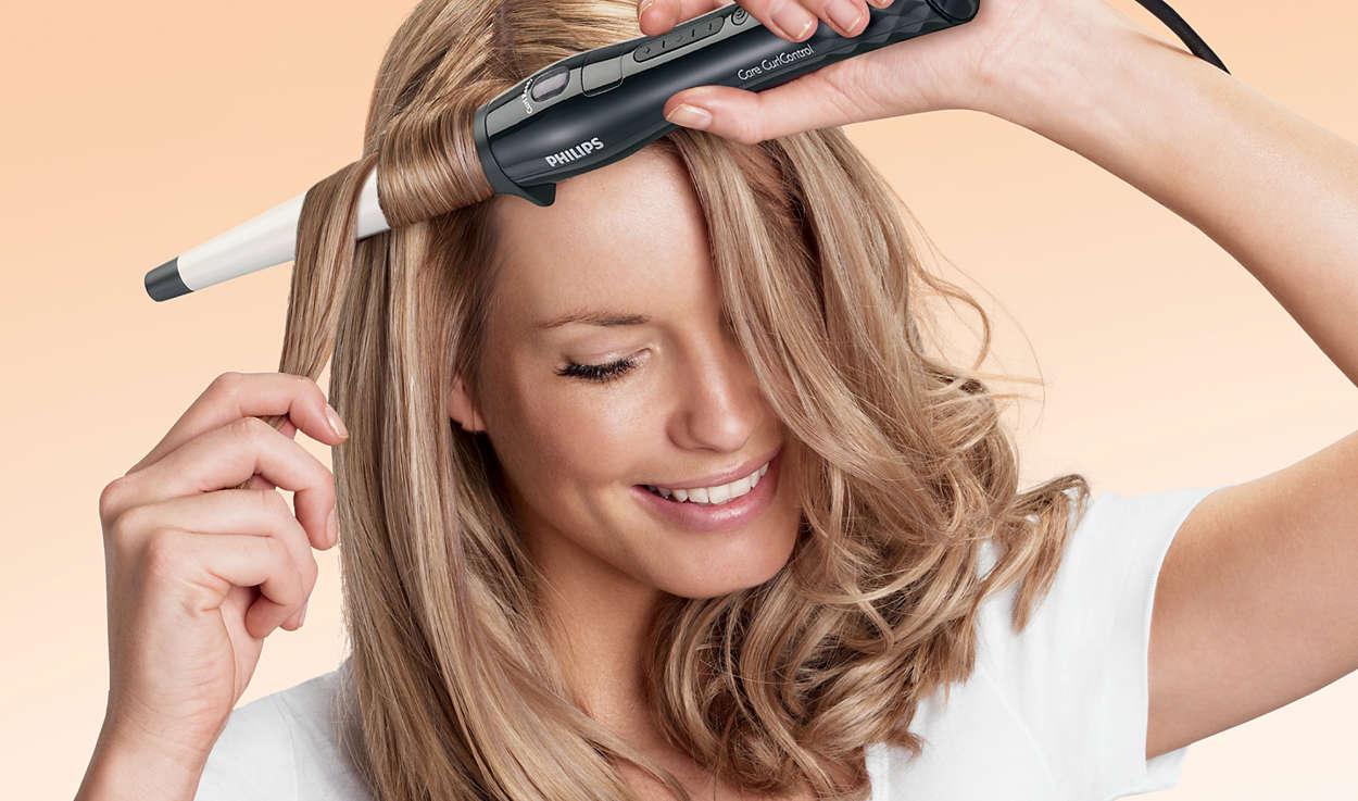 Täydelliset kiharat ja laineet hiusten terveydestä tinkimättä e6ee4db799