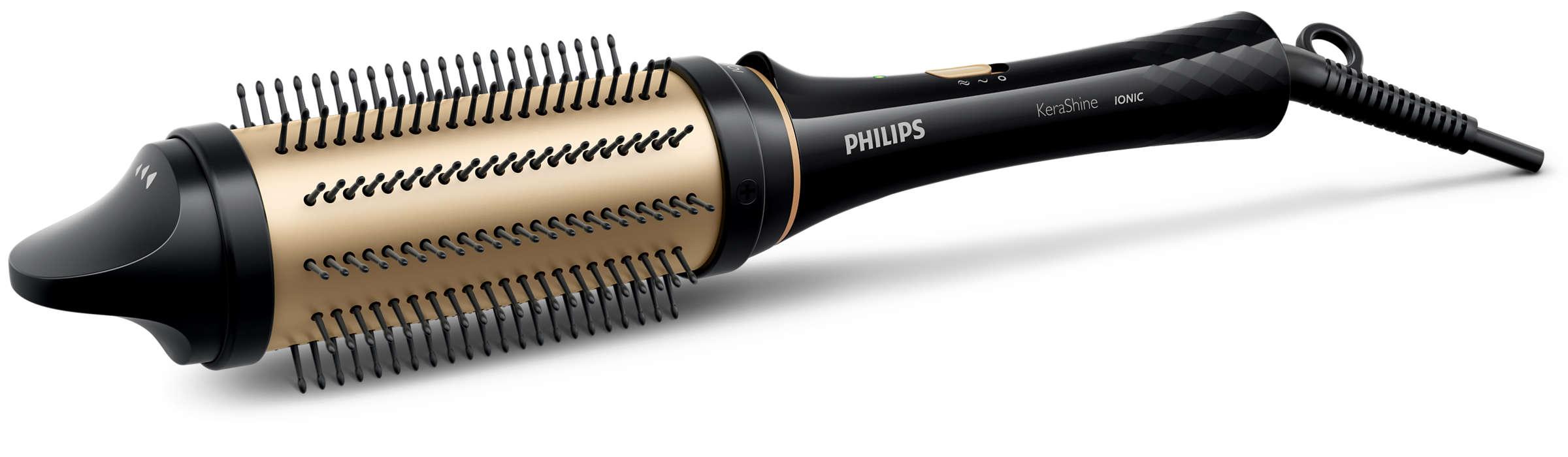 Coafează cu grijă, pentru bucle delicate şi volum