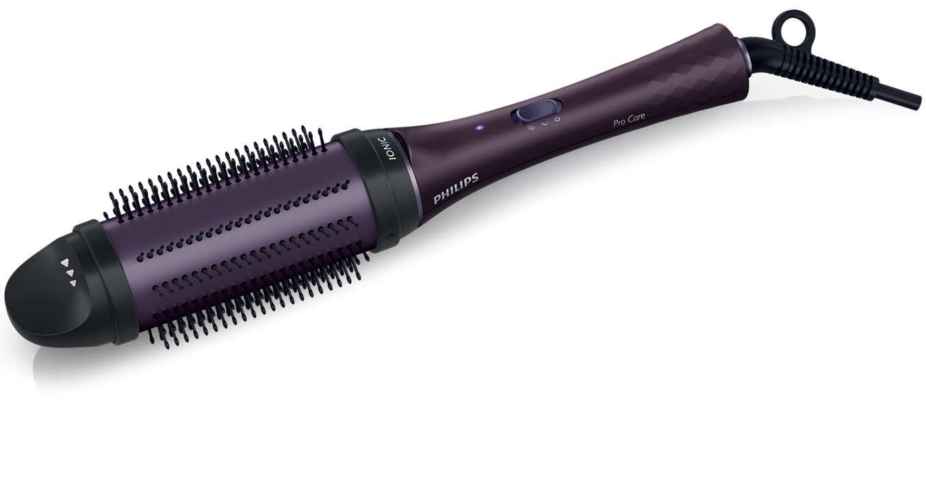 Volym och glans för långt hår