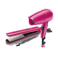 HP8643/00  Dryer & Straightener