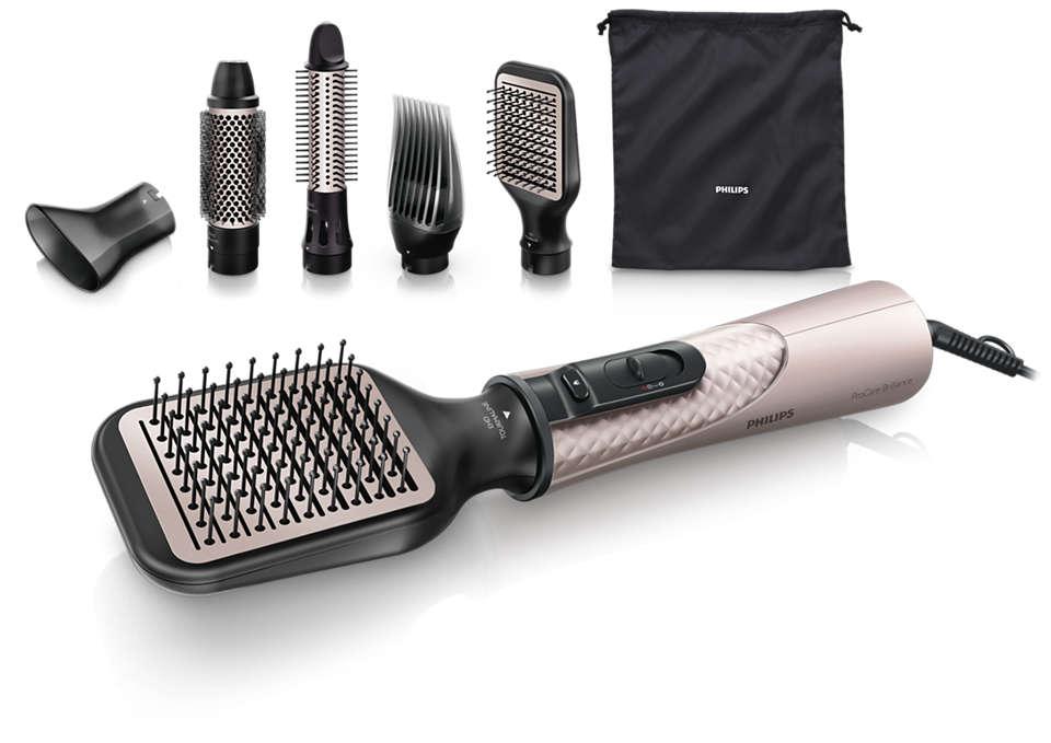 Brushing impeccable et cheveux ultra-brillants