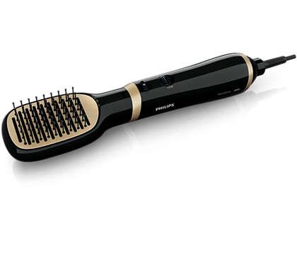 Penataan rambut yang mudah dengan perawatan ion