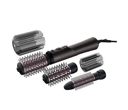 Įvairių šukuosenų modeliavimas, maksimalus plaukų žvilgesys