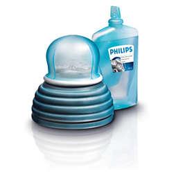 rengöringsvätska för rakhuvud