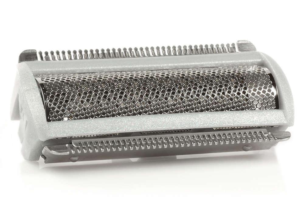 Para sustituir el cabezal de afeitado actual