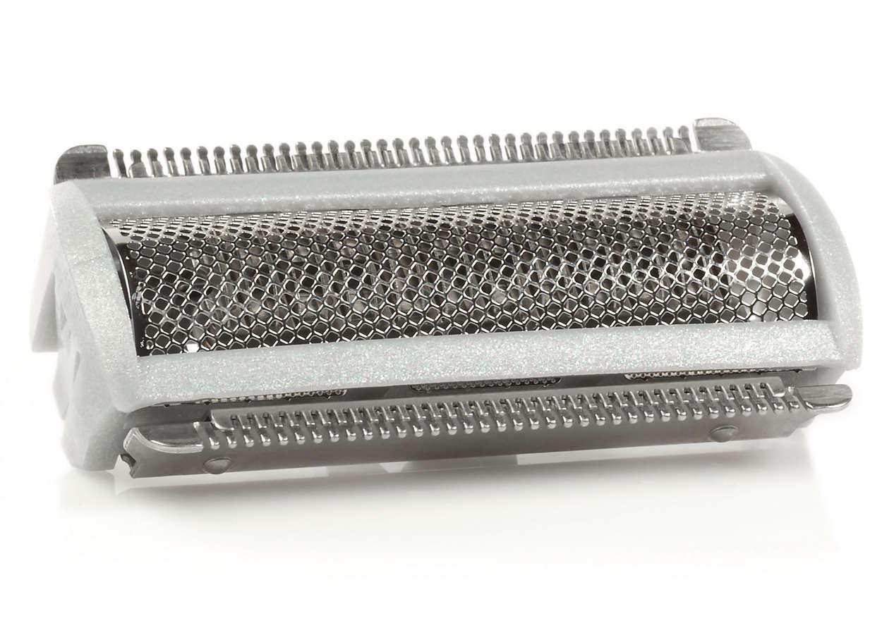 Per sostituire la testina di rasatura in uso