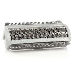 Testina di rasatura con lamina
