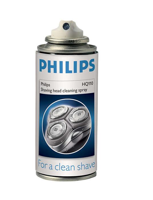 Para un afeitado limpio